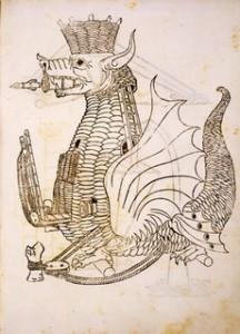 Roberto Valturio, De re militari [Verona], Johannes Nicolai de Verona, 1472 Firenze, Biblioteca Medicea Laurenziana, Inc. 2.10